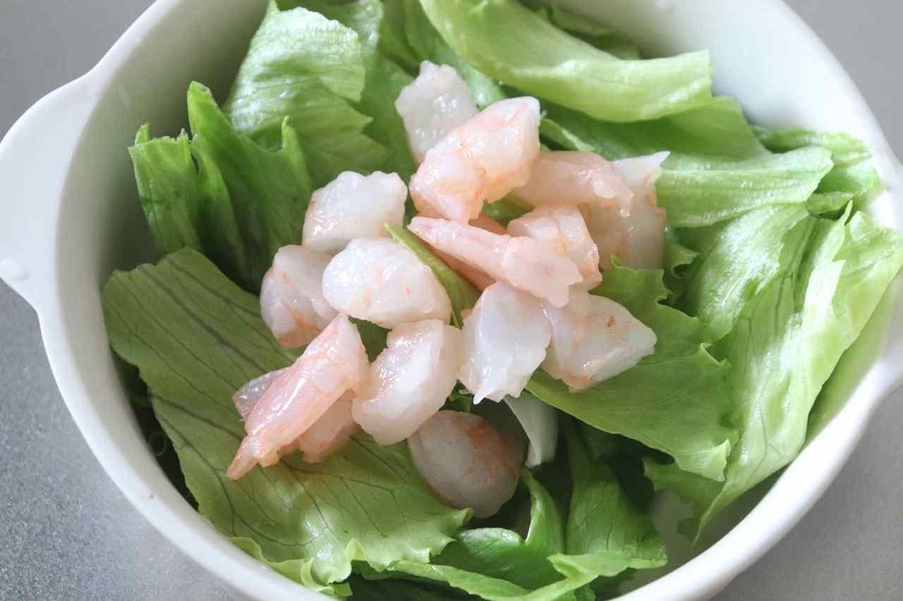 サイゼ風「小エビのサラダ」レシピ