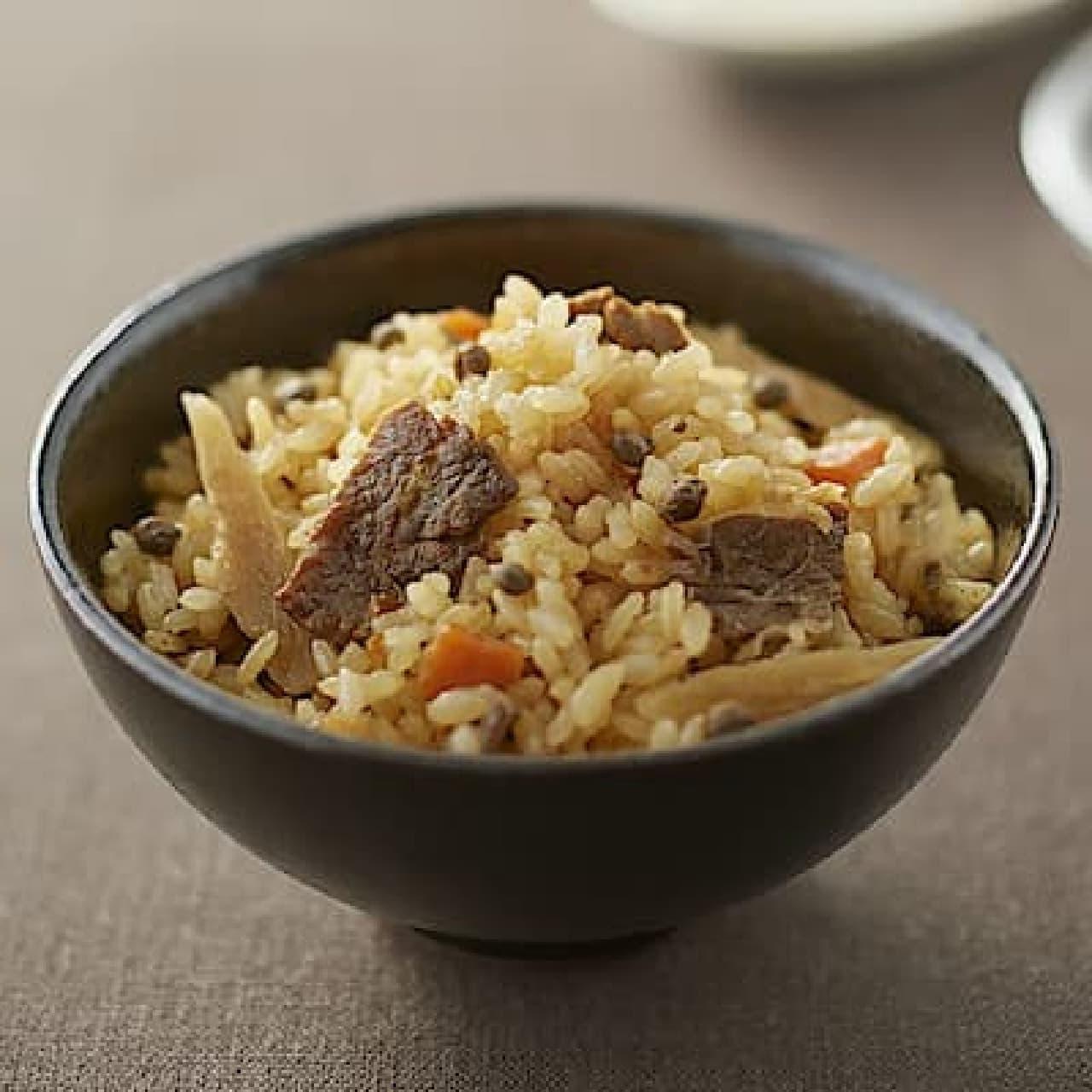 無印良品「炊き込みごはんの素 牛肉と実山椒のごはん」