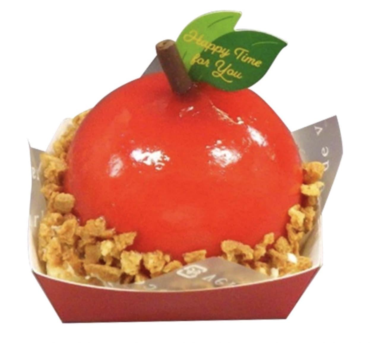 シャトレーゼ「まんまるりんごケーキ」