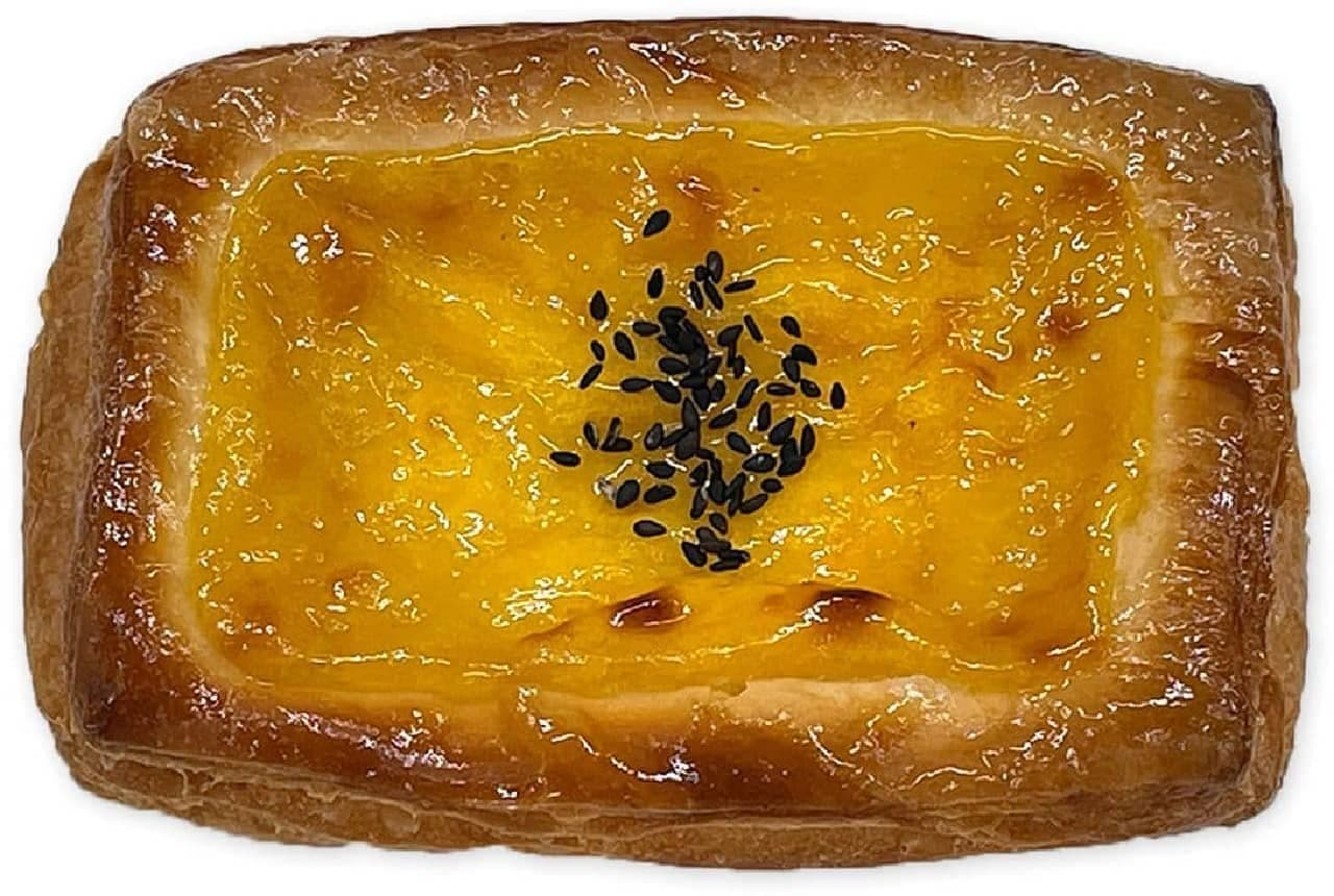 セブン-イレブン「さつま芋クリームデニッシュ」