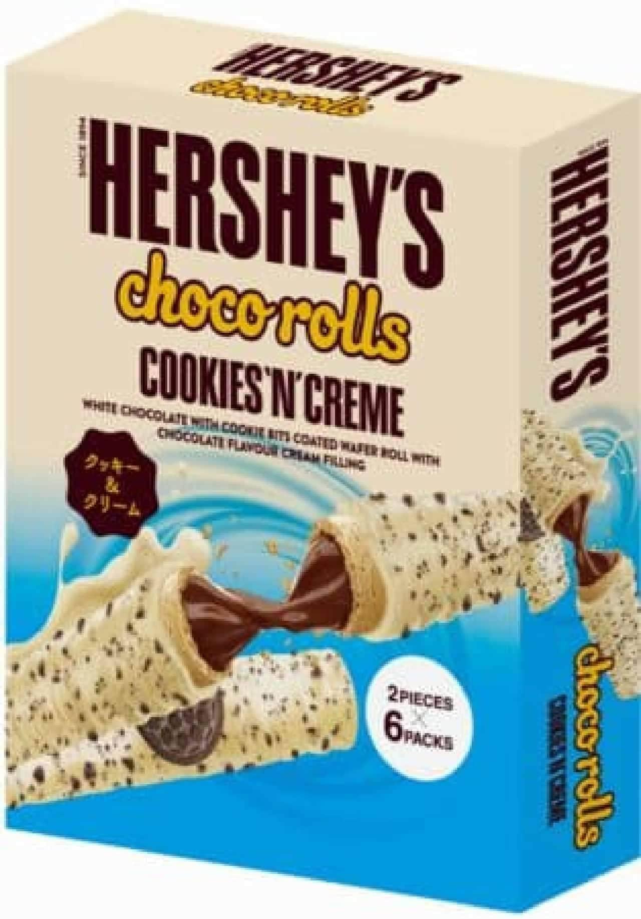ハーシー チョコロール クッキー&クリーム