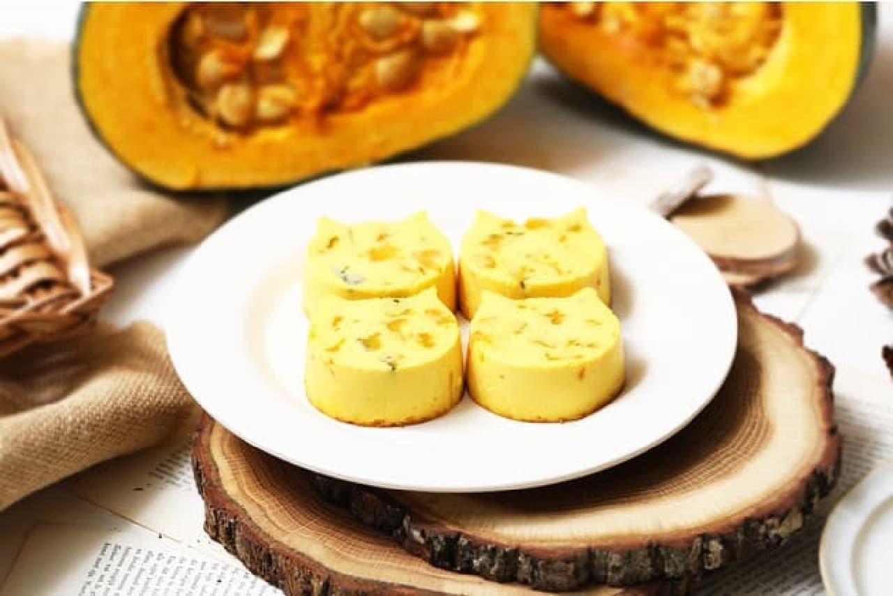 ねこねこチーズケーキ「にゃんチー かぼちゃ」