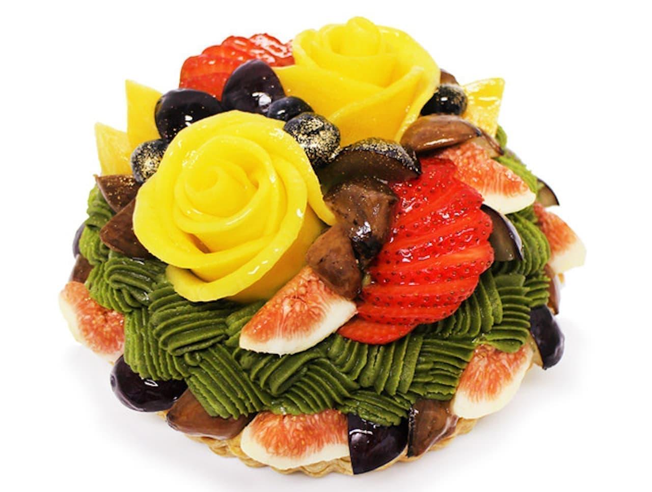 カフェコムサ「予約限定ケーキ」