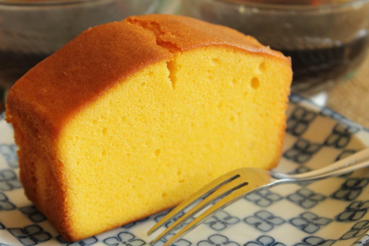 実食「紅はるかのパウンドケーキ」