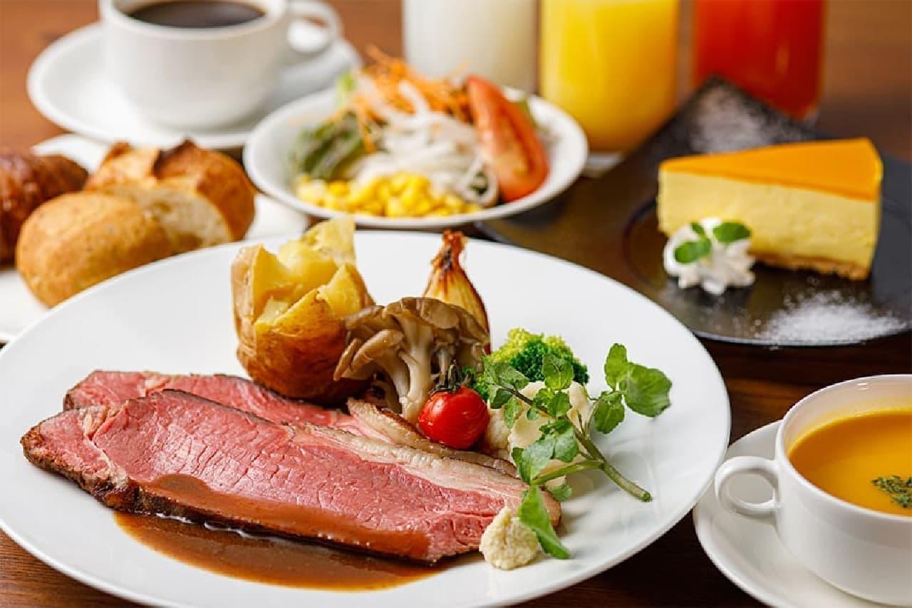 「ローストビーフ食べ放題ランチプラン」神戸三宮東急REIホテル