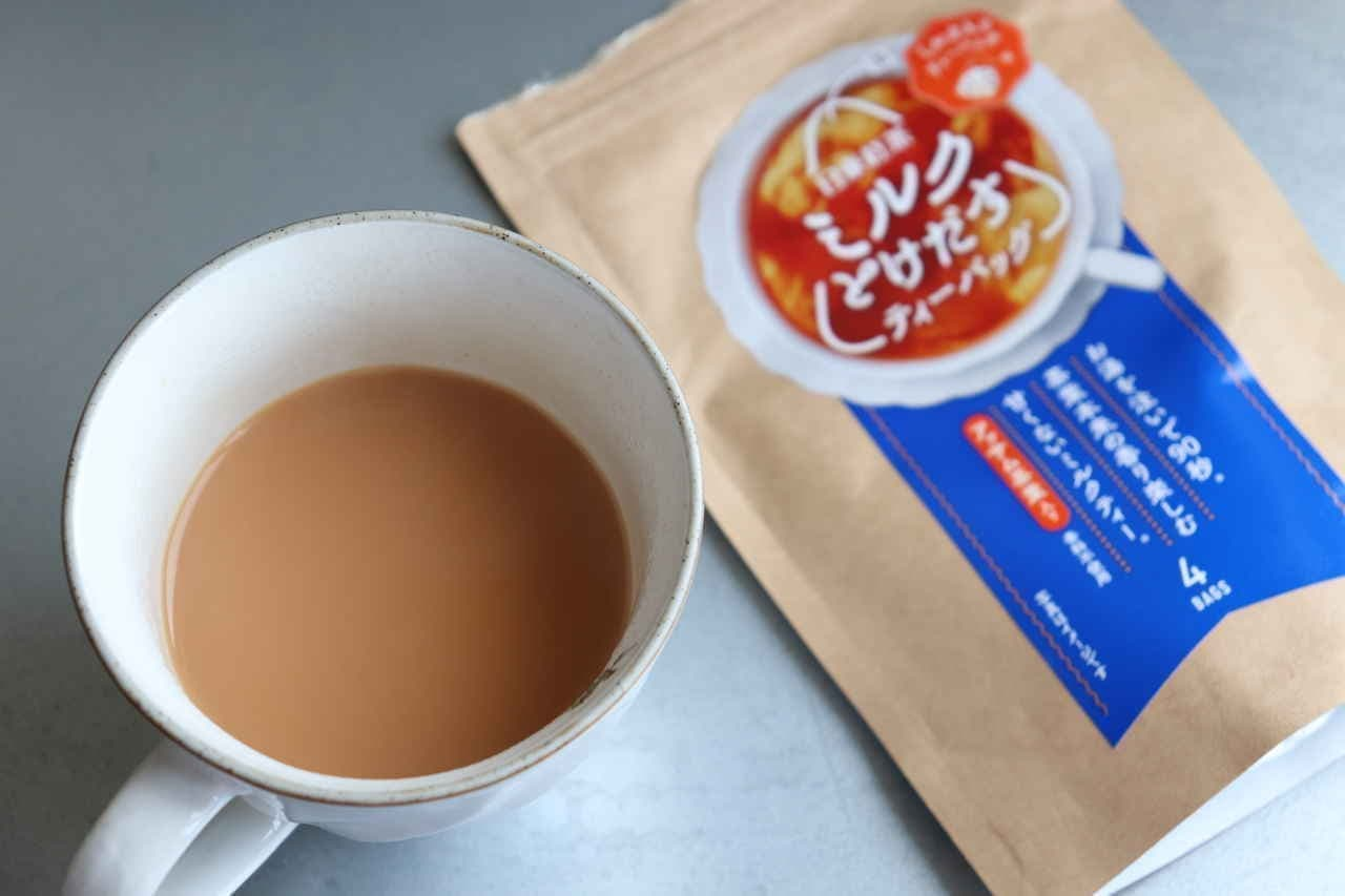 日東紅茶「ミルクとけだすティーバッグ」