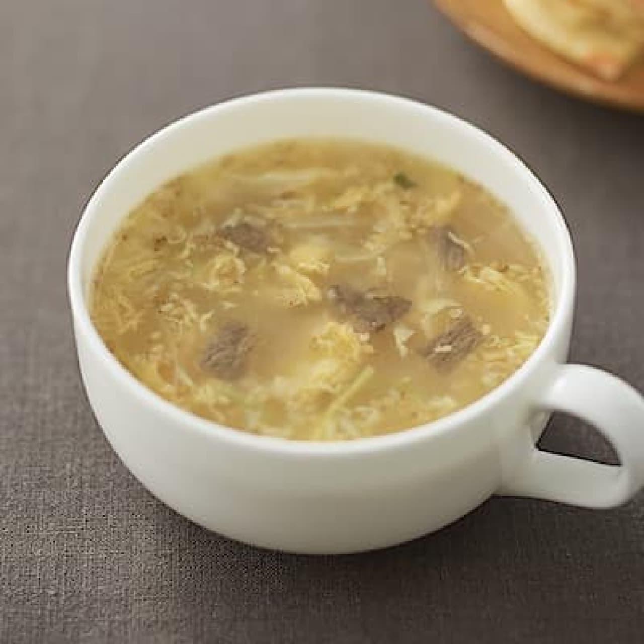 無印良品「食べるスープ コムタンスープ」