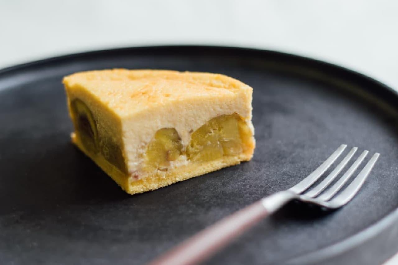 ソラアオ「京都丹波栗『栗峰(りほう)』チーズケーキ」