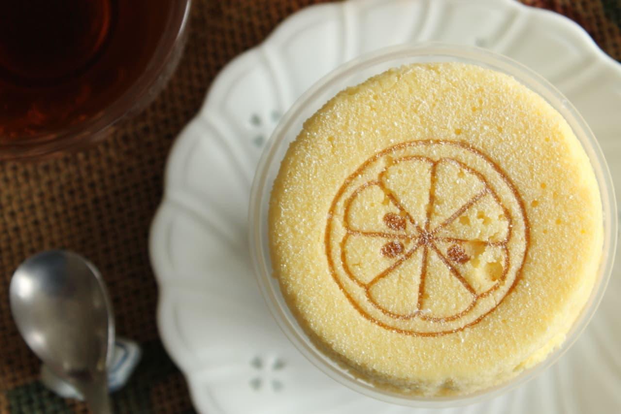 ファミマ「レモンチーズのスフレ・プリン」