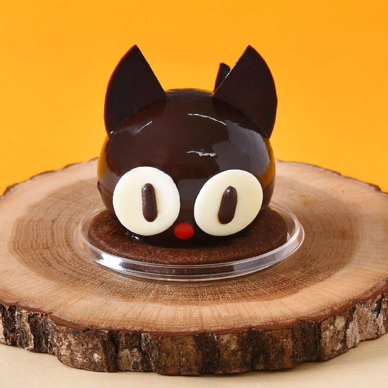 コロンバン「黒猫のケーキ」