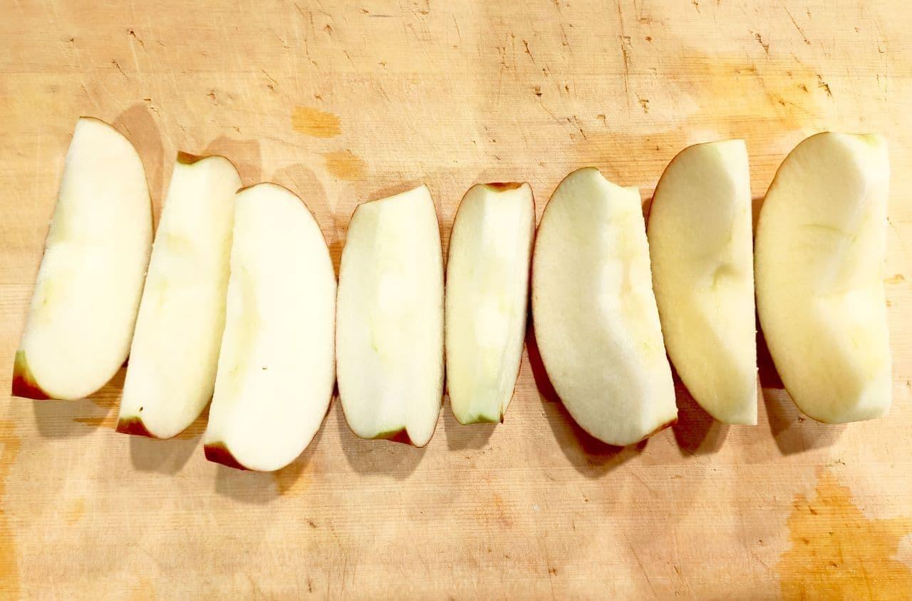 「りんごの紅茶煮」レシピ