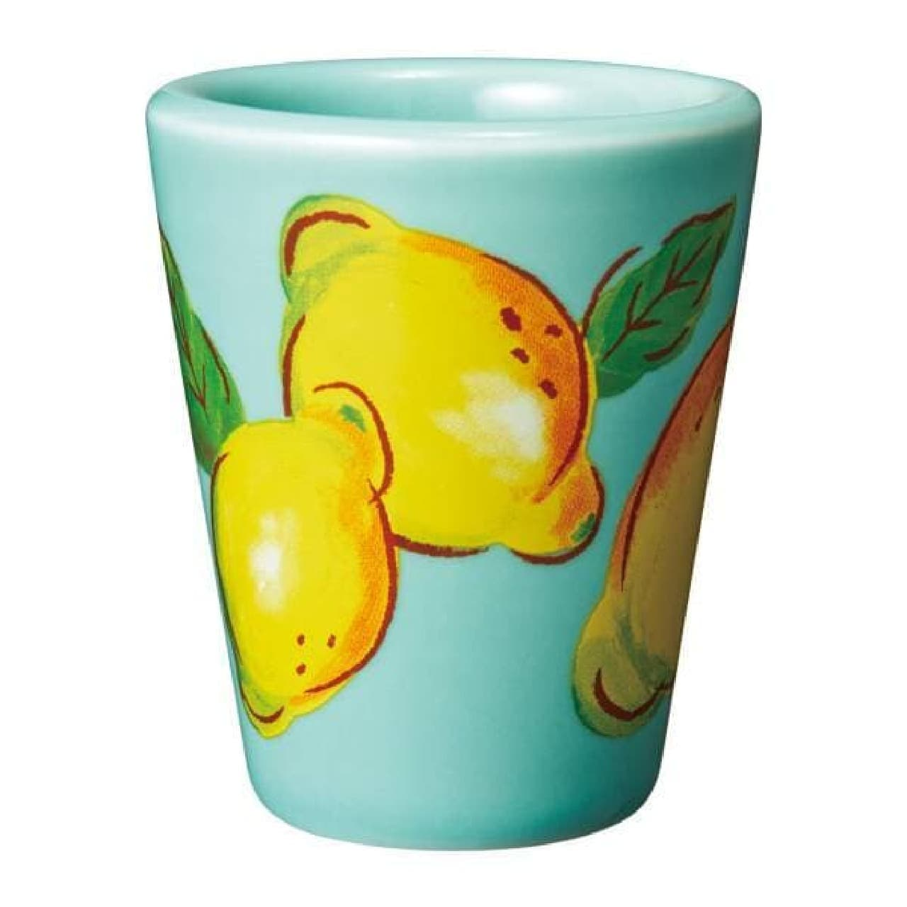 カルディ リモンチェッロ買うと「オリジナル 陶器ショットグラス」もらえる