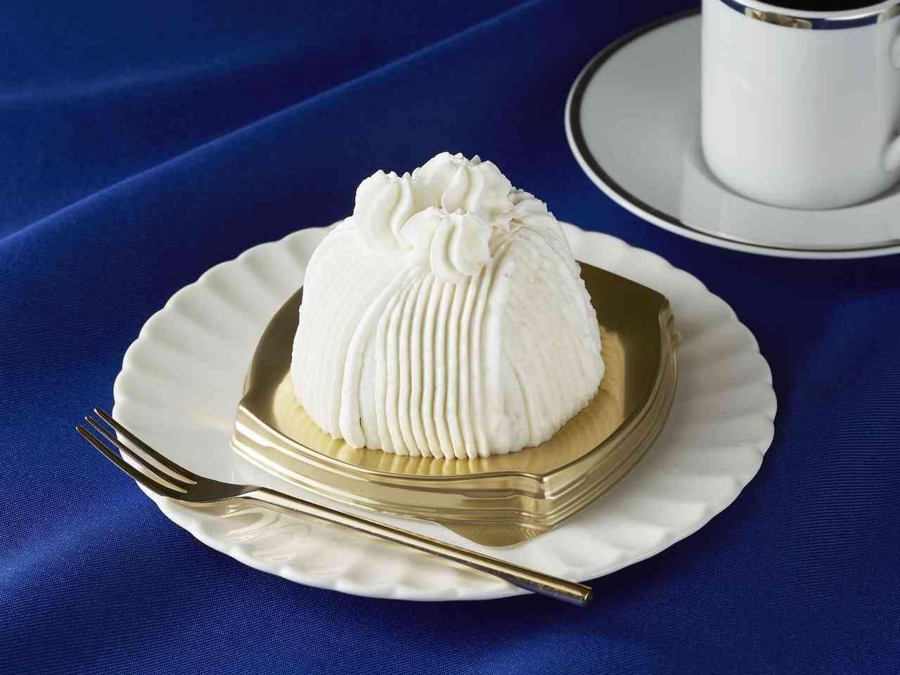 ごろごろ栗の純白ケーキ