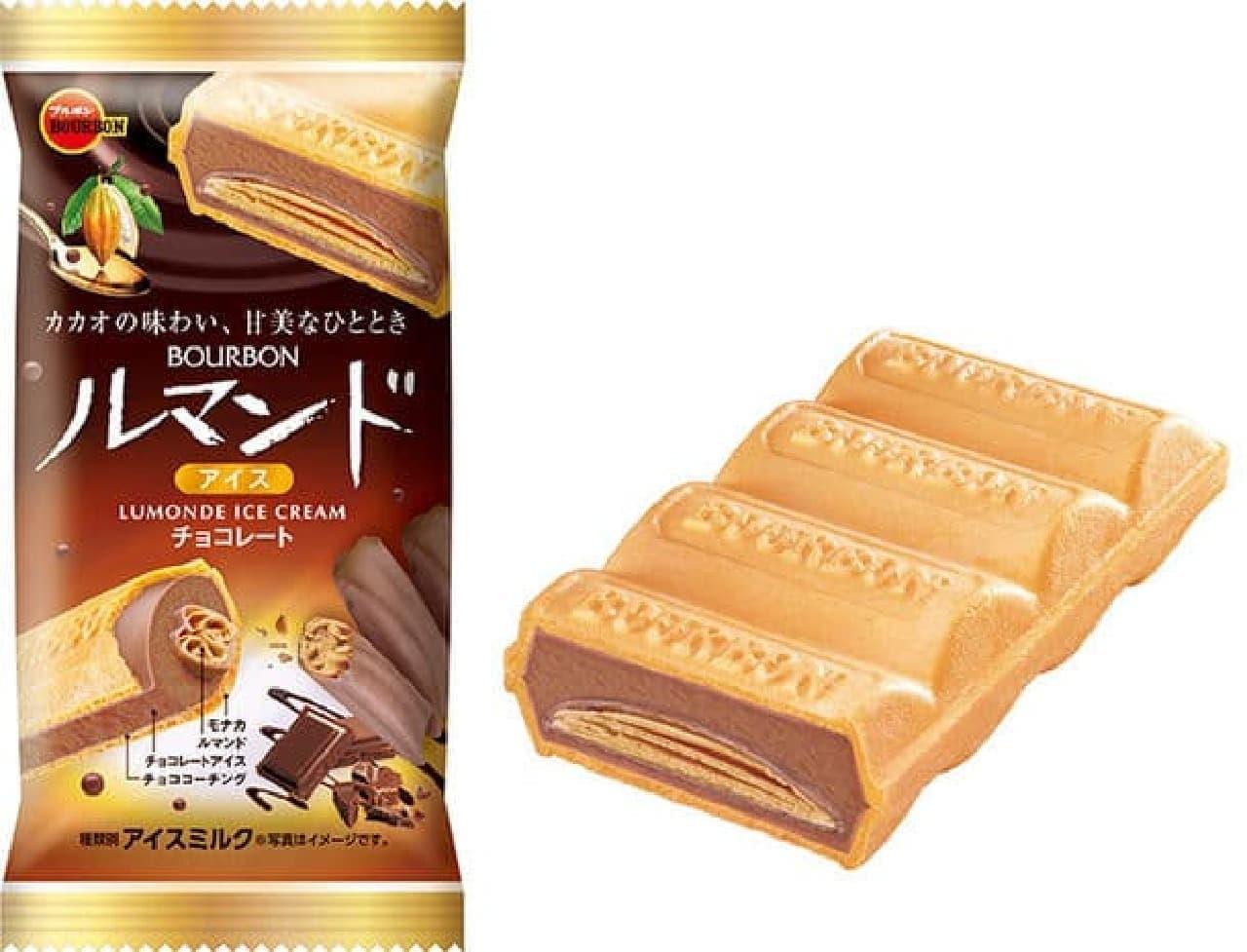 ブルボンルマンドアイスチョコレート」