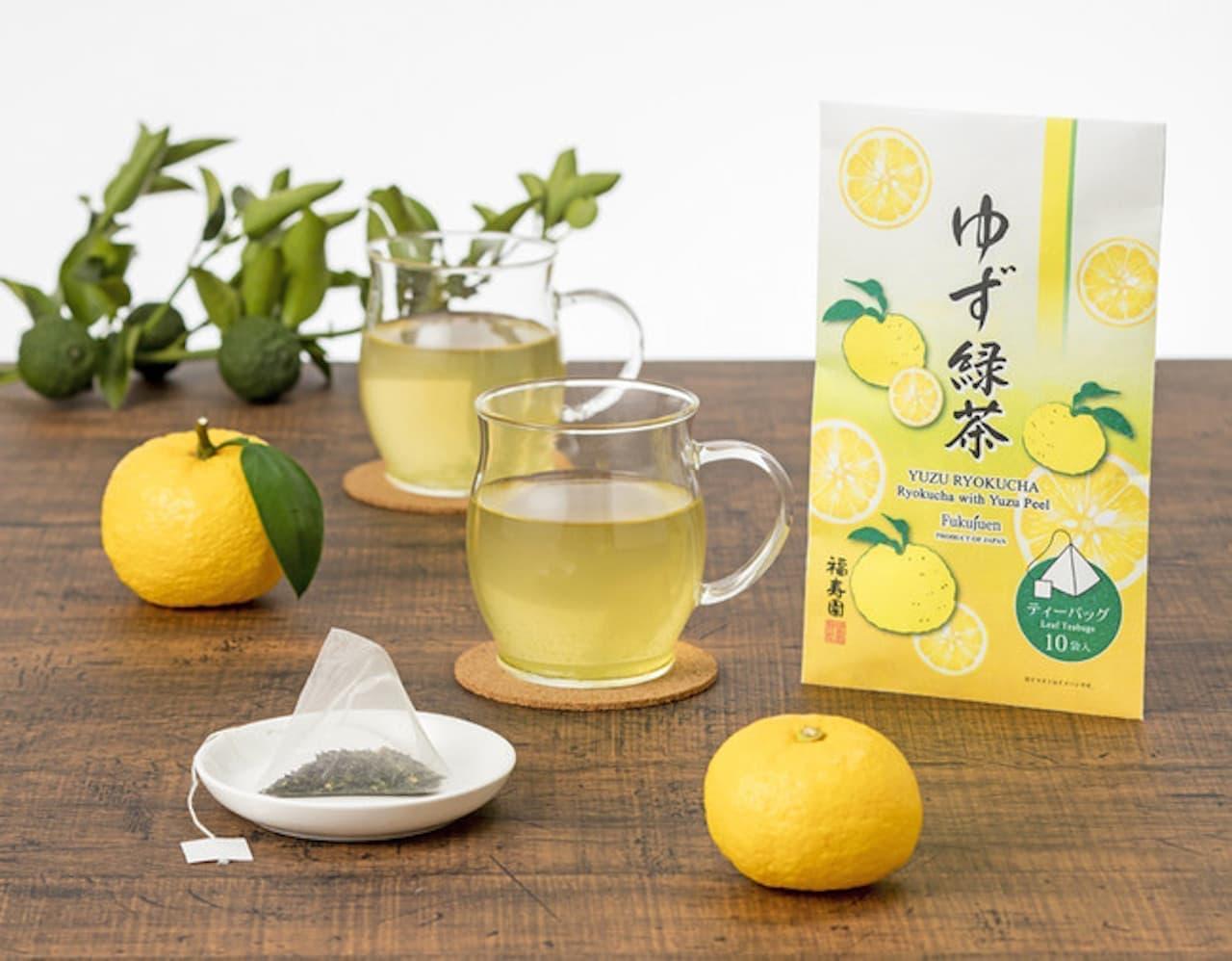 福寿園「ゆず緑茶 ティーバッグ」