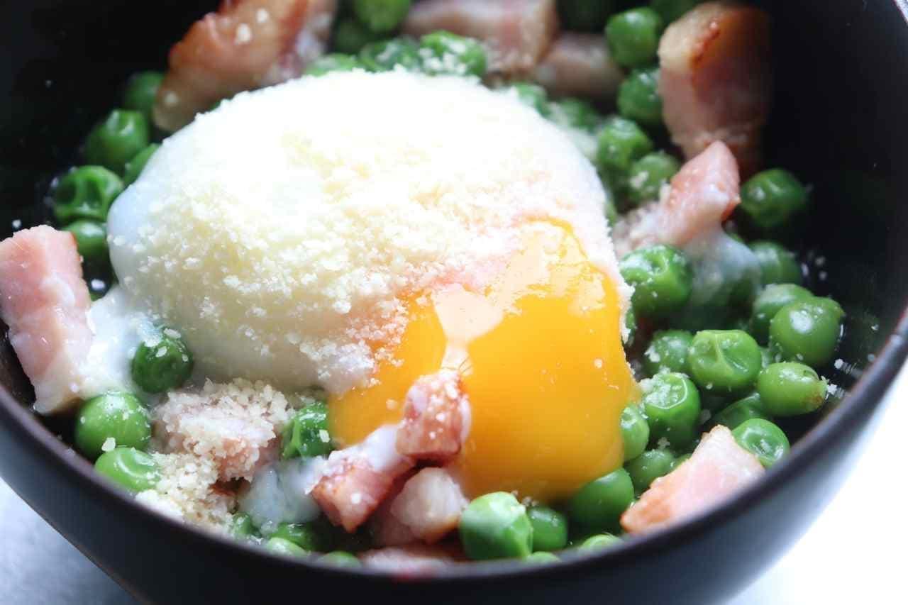 サイゼリヤ風青豆の温サラダ