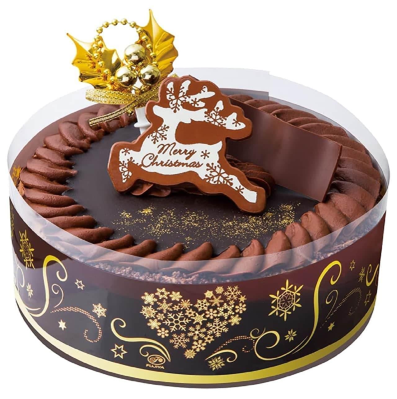 不二家洋菓子店「クリスマスプレミアムチョコ生ケーキ」