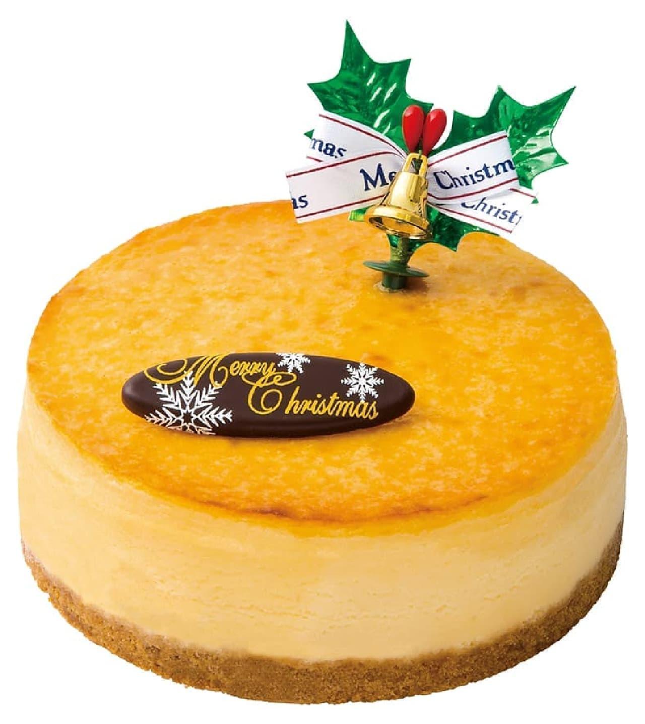不二家洋菓子店「クリスマスプレミアム濃厚ベイクドチーズケーキ」