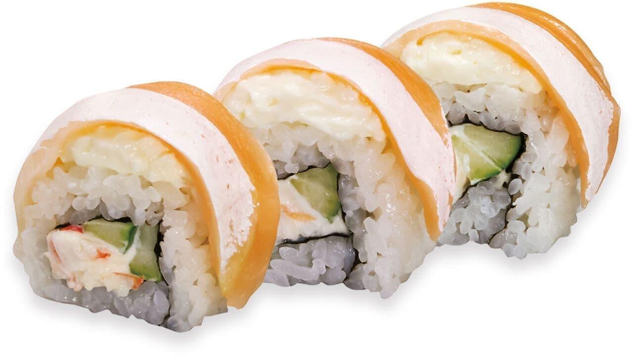 くら寿司「サーモンフィラデルフィアロール」