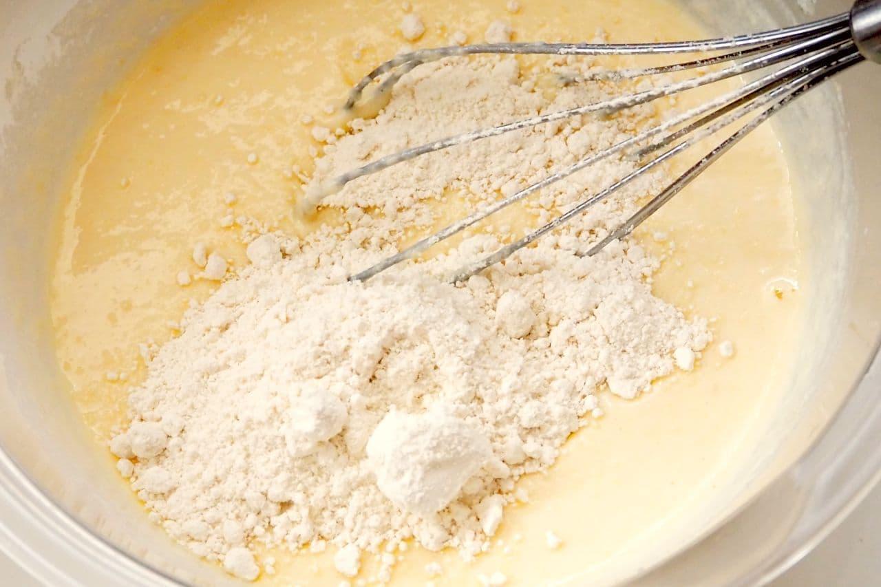 「おからヨーグルトケーキ」レシピ