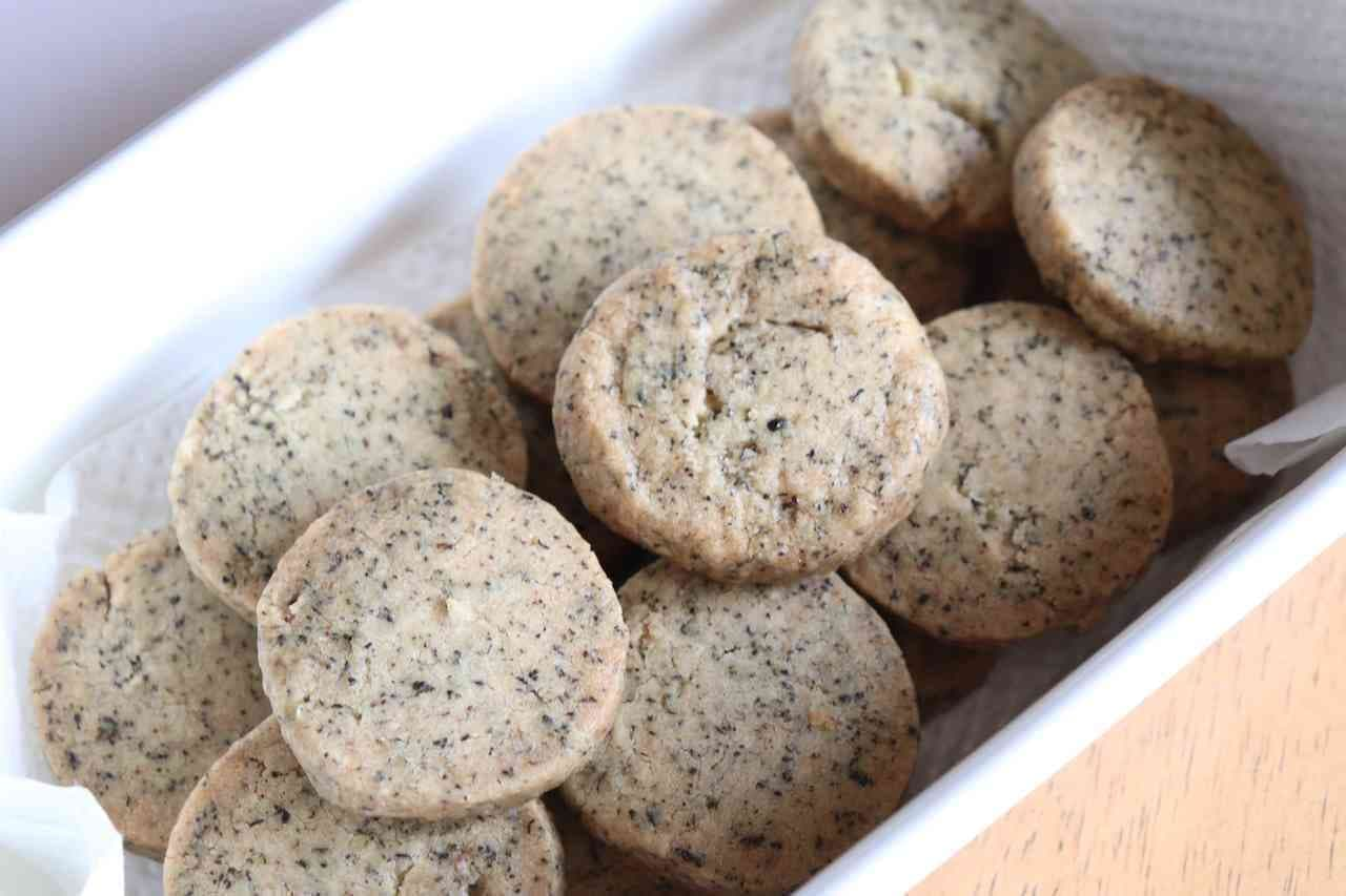 「紅茶クッキー」のレシピ