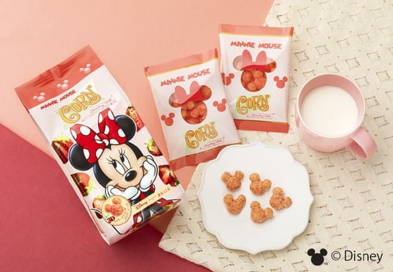 Disney SWEETS COLLECTION by 東京ばな奈「ミニーマウス/コーン いちごミルク味」