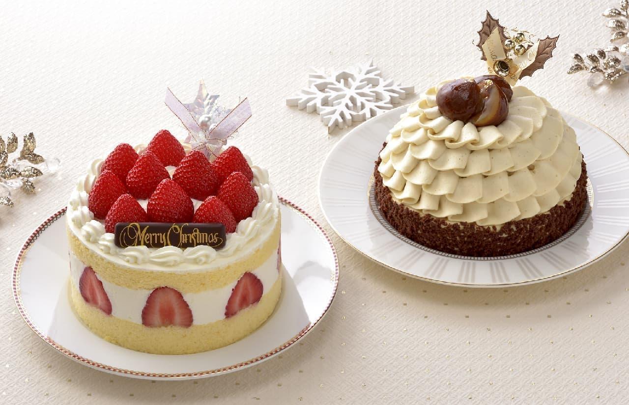 銀座コージーコーナー「2021年 クリスマスケーキ」