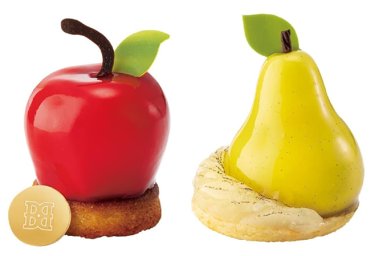 バターステイツ「無限アップル」「洋梨のすべて」
