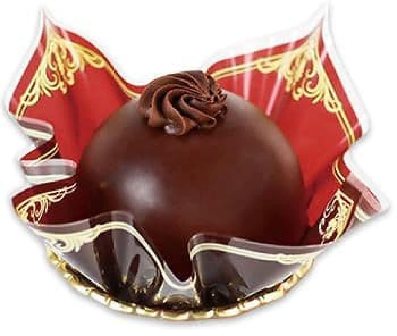 不二家洋菓子店「カントリーマアムチョコまみれケーキ」