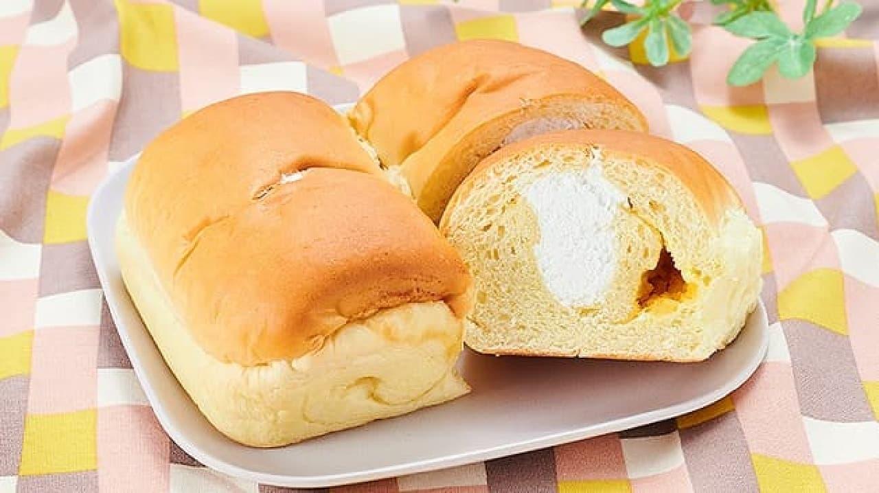 ローソンストア100「VL 芋あん&ホイップパン」