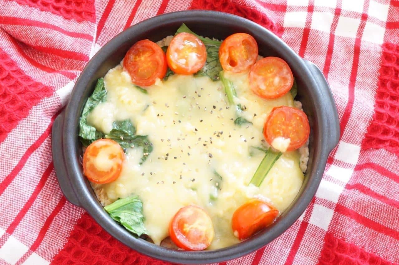 オートミール豆乳グラタン