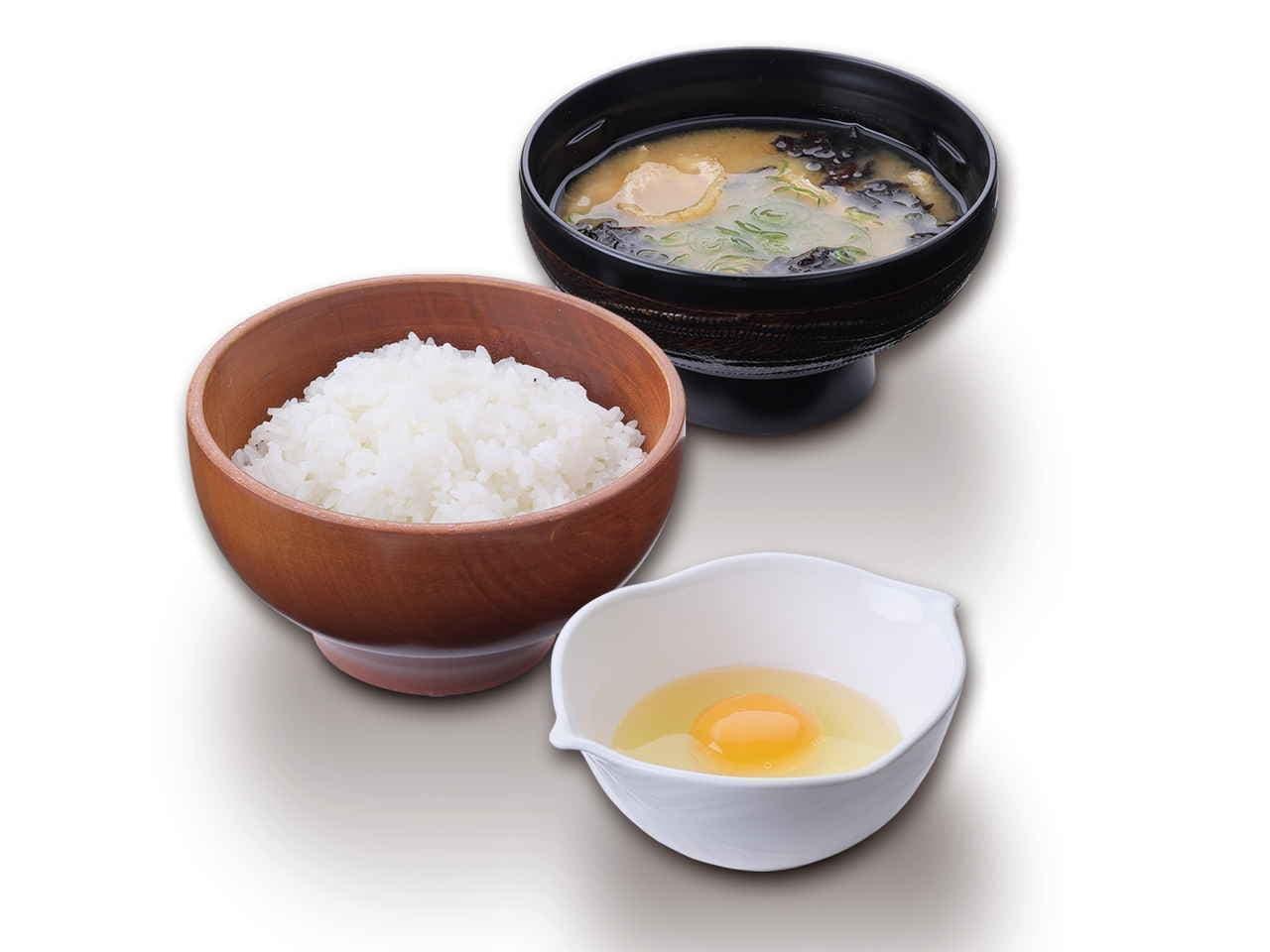 びっくりドンキー モーニング「卵かけご飯」