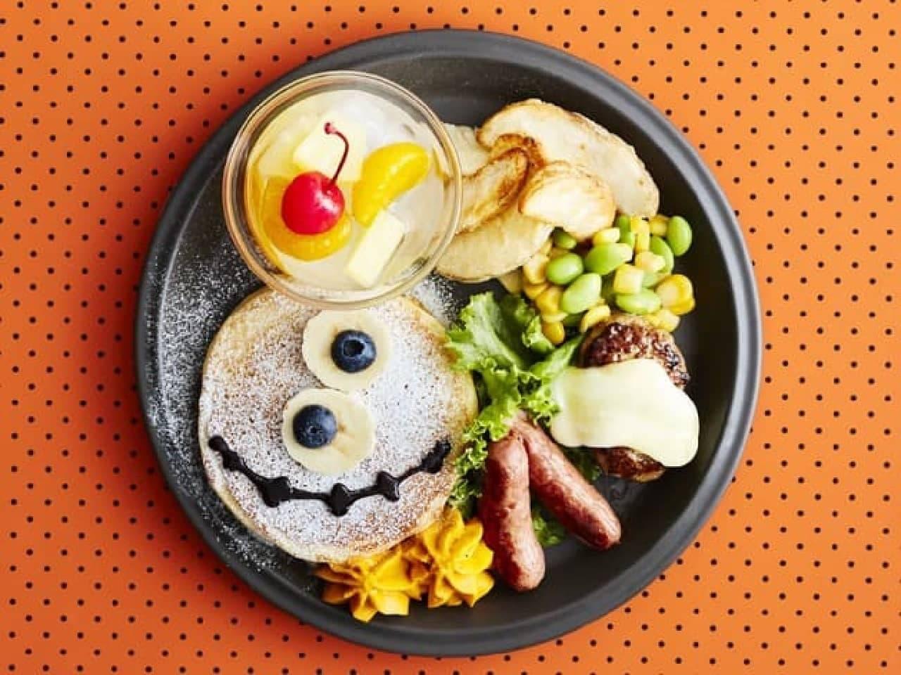 J.S. PANCAKE CAFE「ハロウィンキッズパンケーキ」