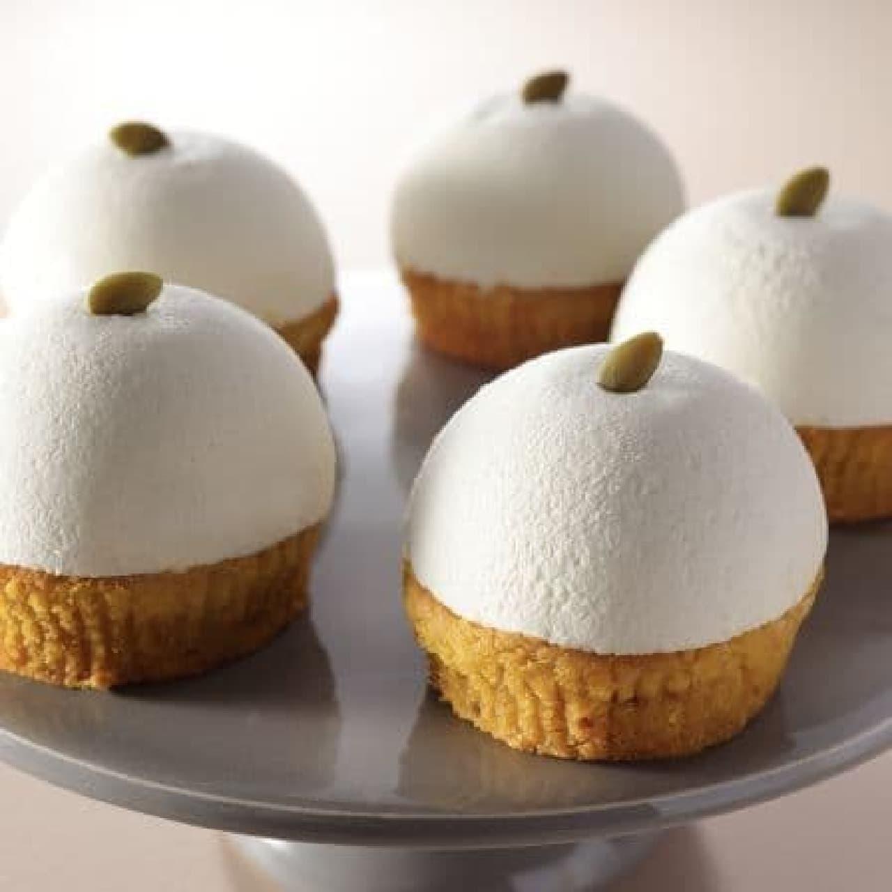 スターバックス「豆乳パンプキンケーキ」