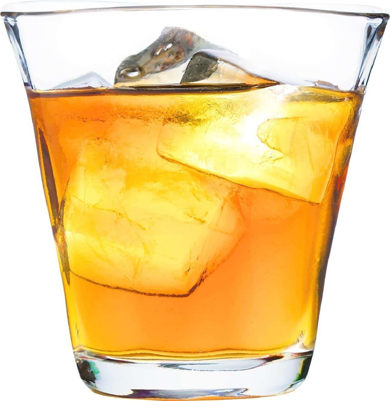 バーミヤン「紀州南高梅の黒糖梅酒グラス(ストレート・ロック)」