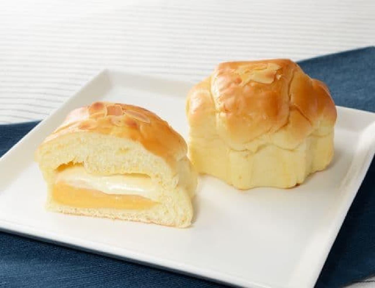 ローソン「ブリオッシュクリームパン」