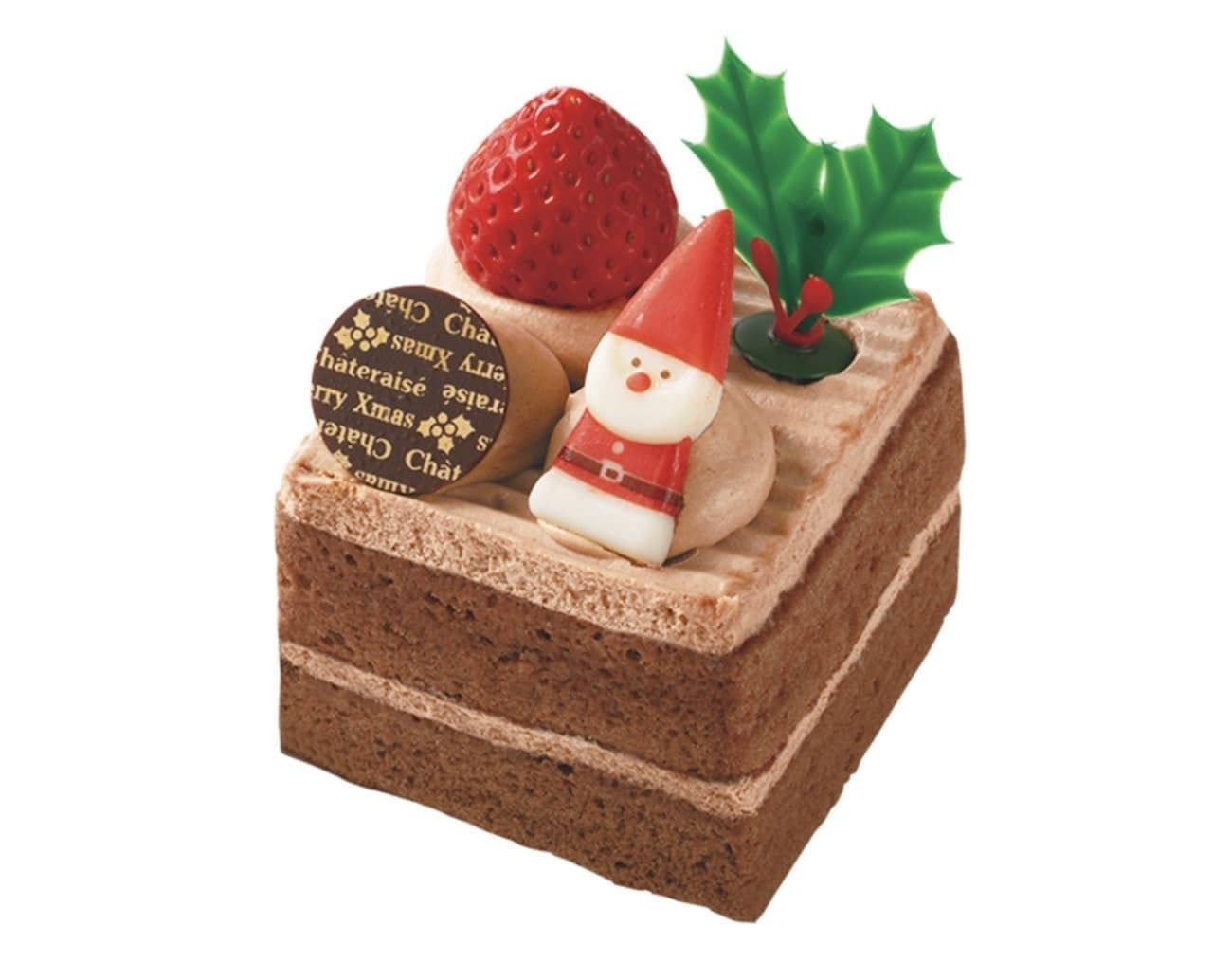 シャトレーゼ「Xmasサンタのプレゼント チョコ」