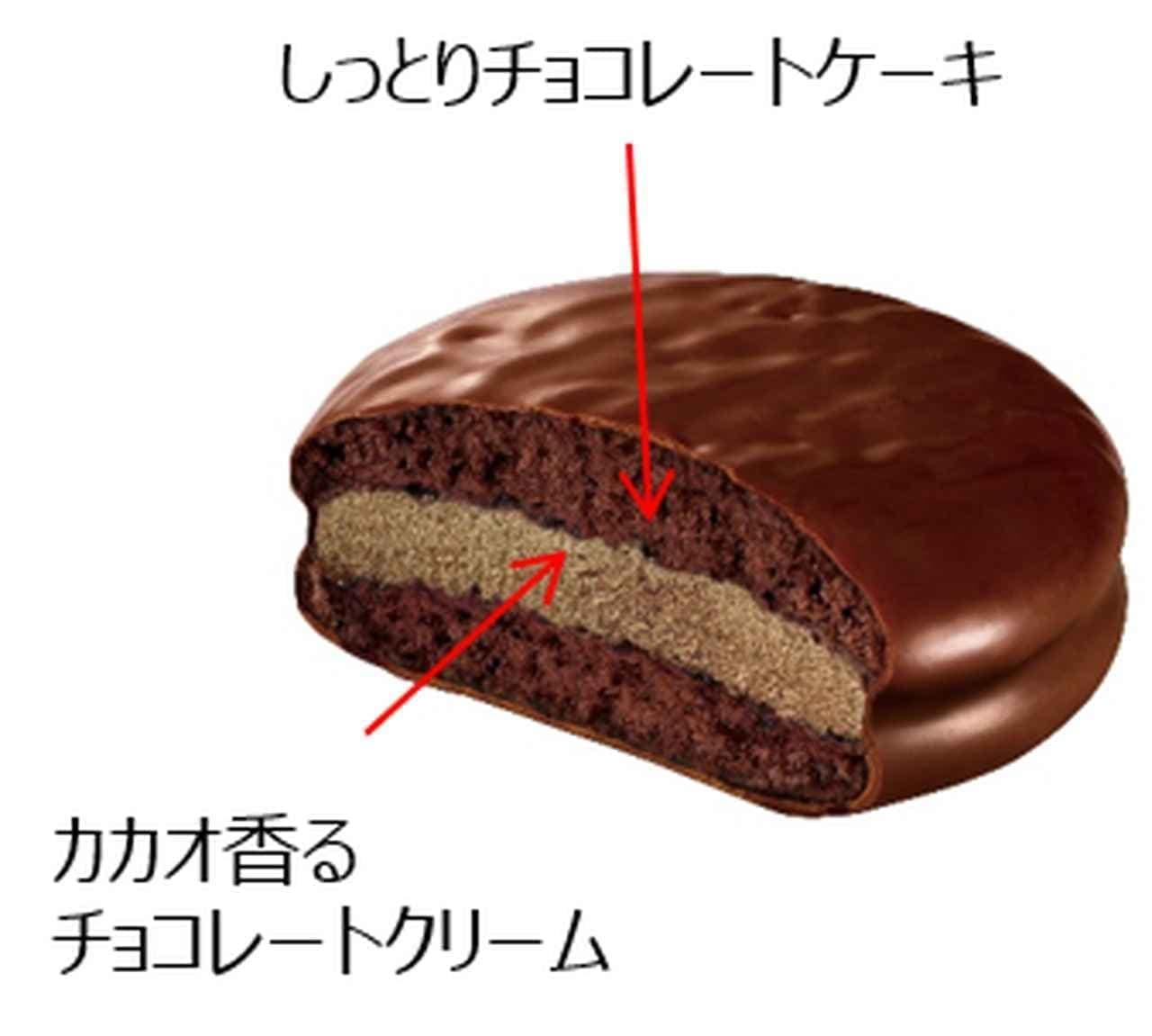 ロッテ「冬のチョコパイアイス」「冬のチョコパイ<濃厚仕立て>」