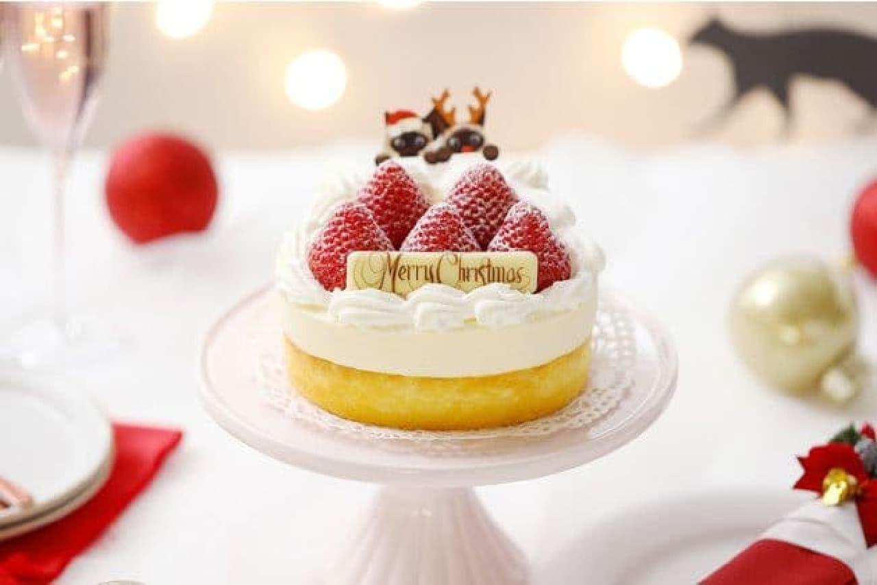 ねこねこチーズケーキ「XmasねこねこWチーズケーキ」
