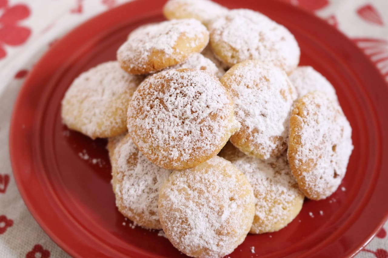 """, """"Okara Snow Cookie"""" Recipe"""