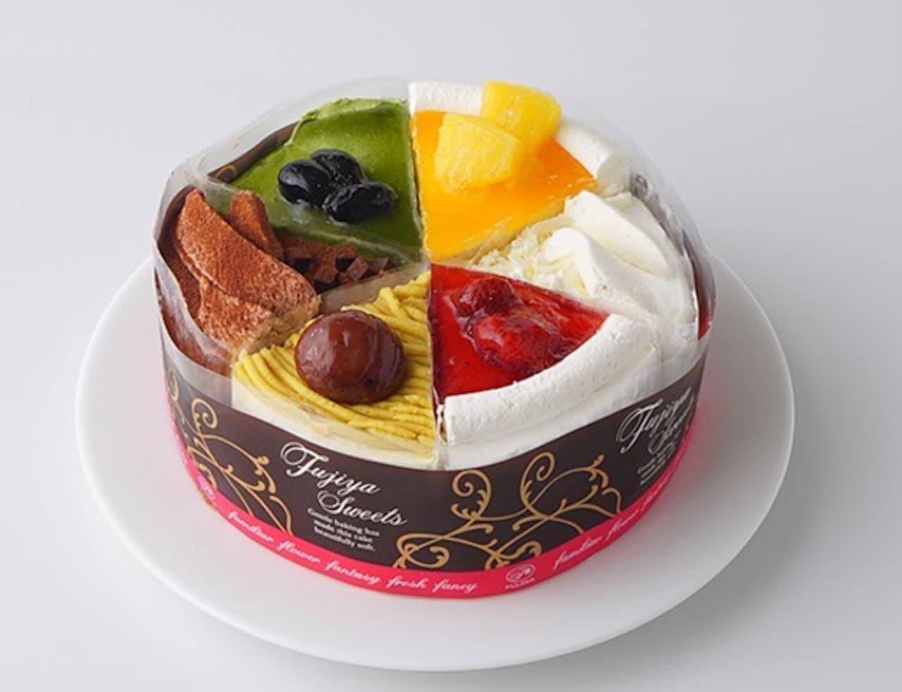 Cake.jp「6種のスイーツコレクション」