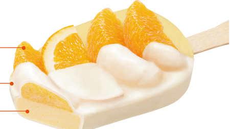 果汁58%の濃厚オレンジアイス!ミニストップに「贅沢なオレンジシャーベット」