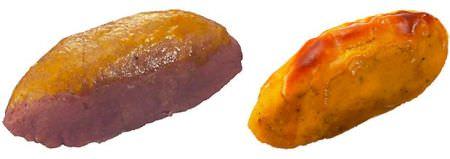 かぼちゃ(右)と紫芋(左)のスイートポテトで、スイートな秋を堪能しましょう