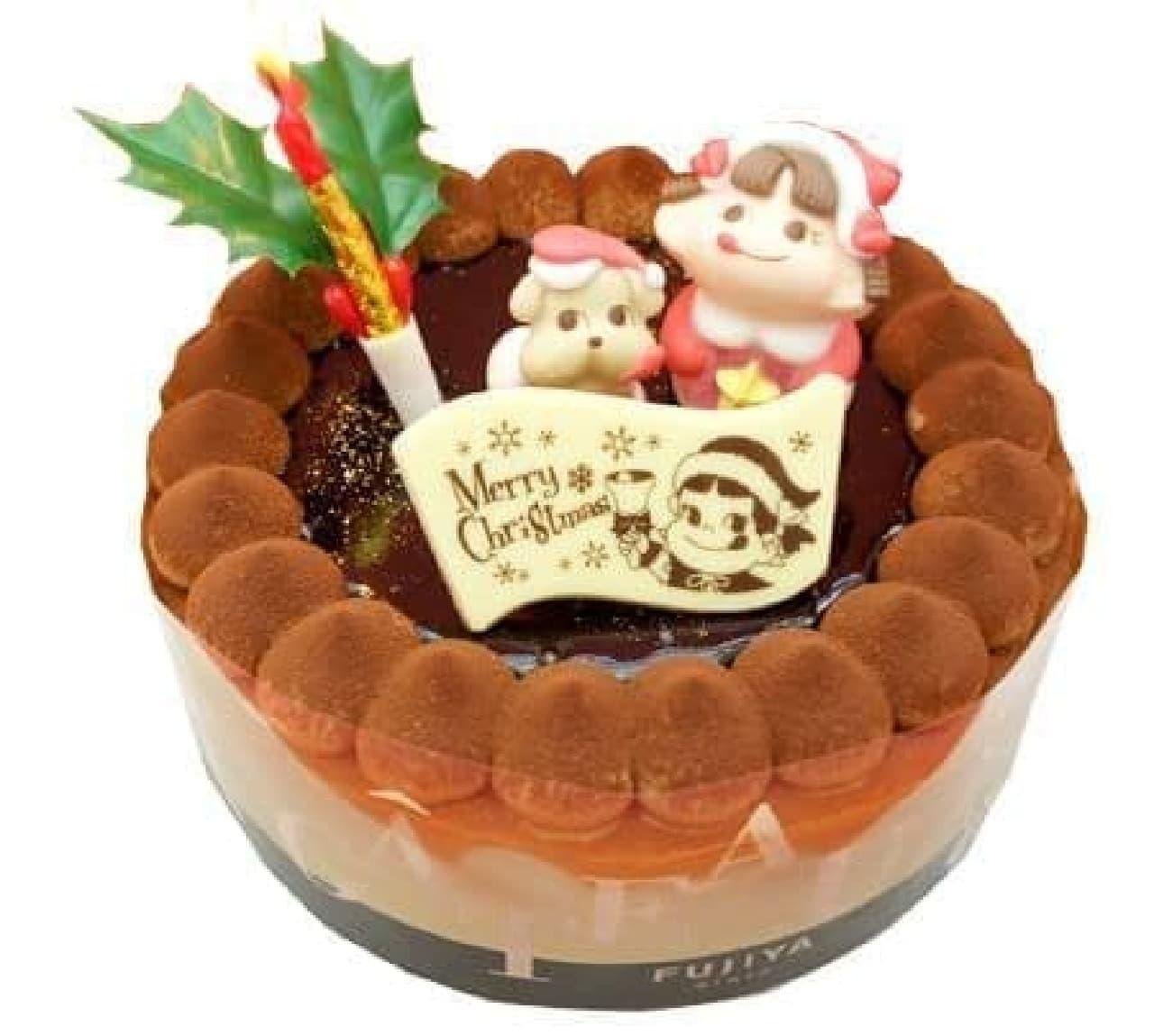 「とろけるクリスマスチョコ生ケーキ」のイメージ