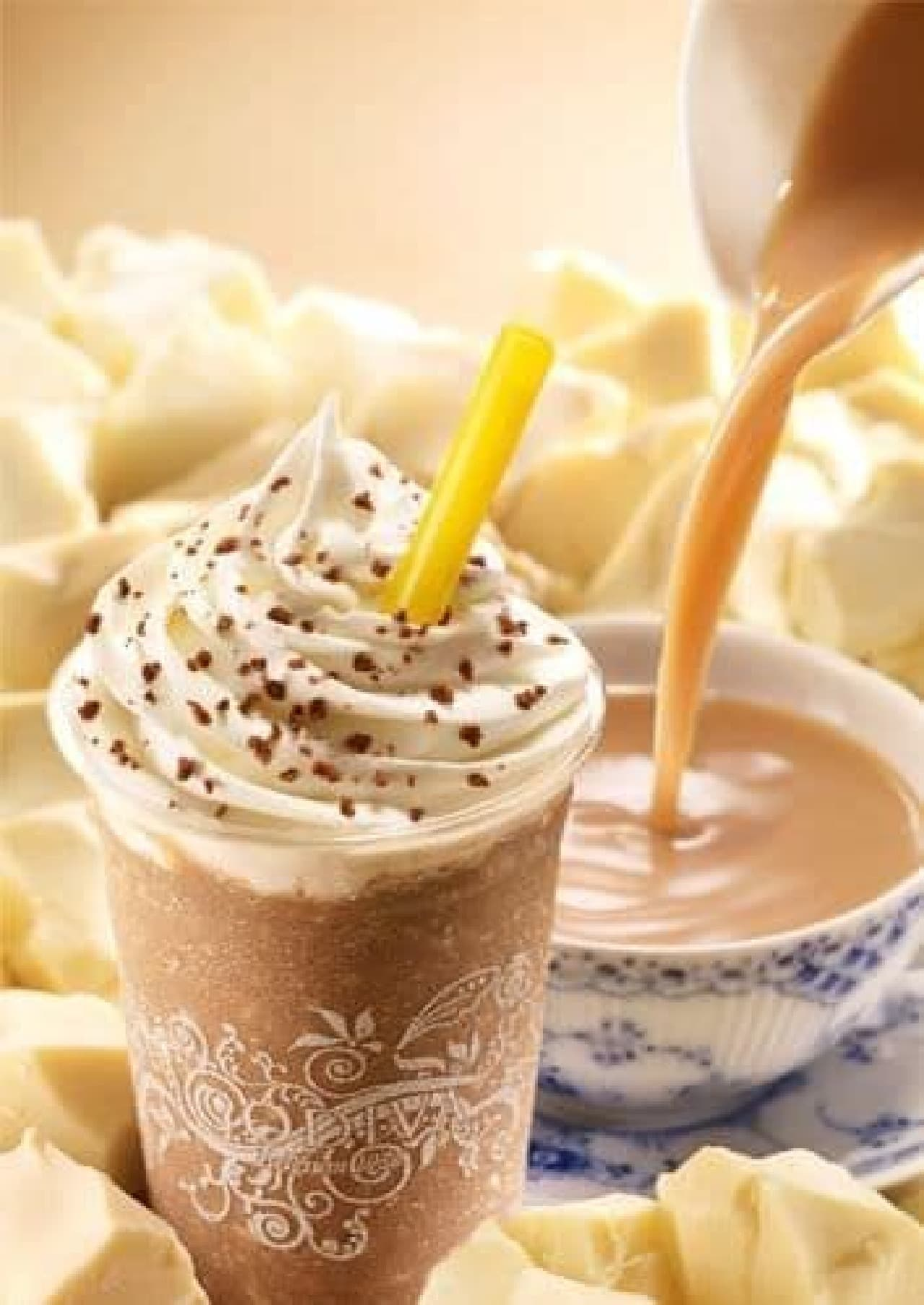「ショコリキサー ホワイトチョコレート ロイヤルミルクティー」