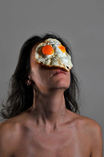 Emanuela Franchini 氏によるアート作品「On Your Face」(C)Emanuela Franchini