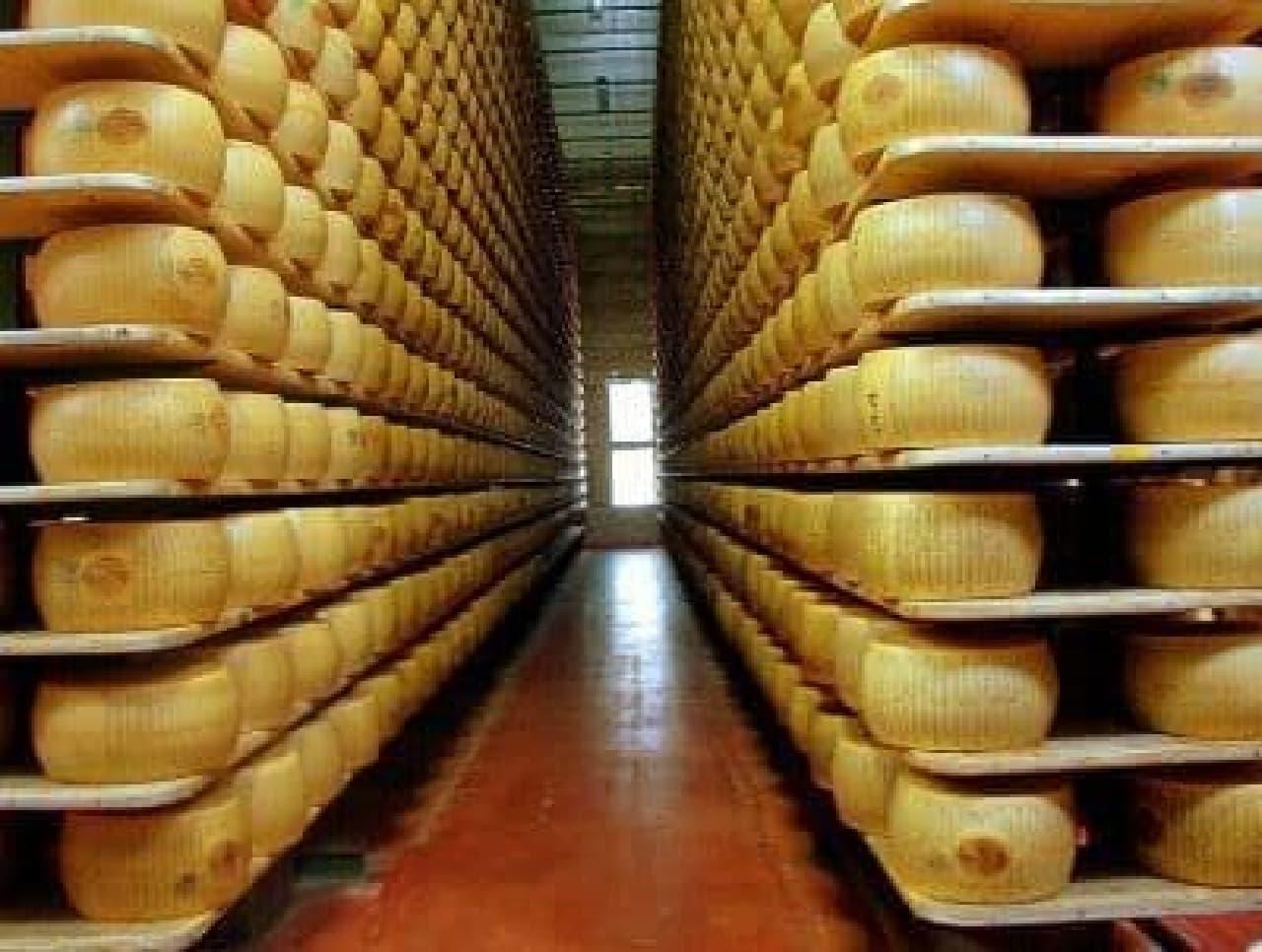 チーズ工場(写真提供:Wikipedia)