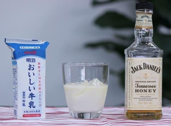飲みやすくて危険な「ジャックハニーミルク」