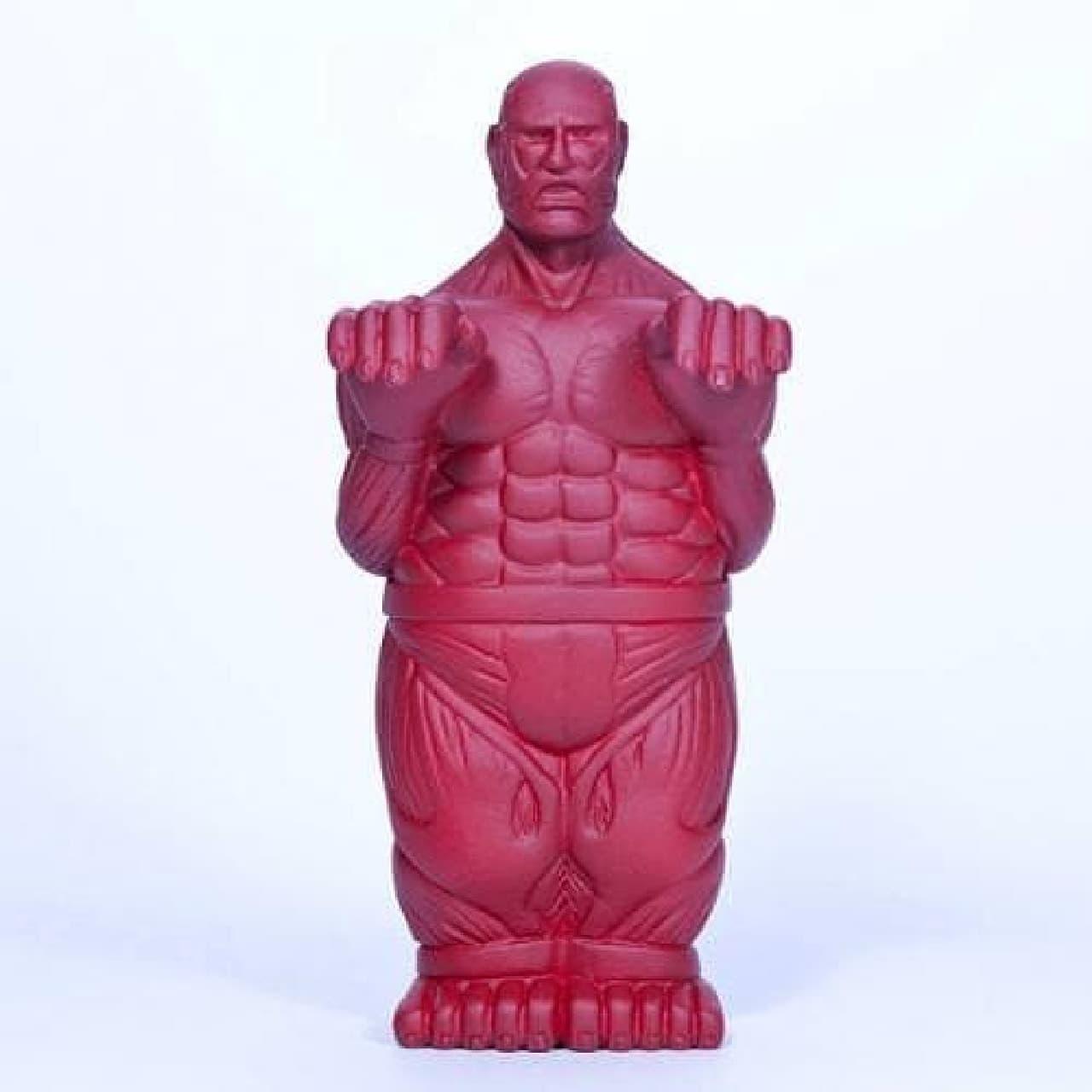 全身からお茶を噴出する特異体質の巨人「超大型巨人の茶こし」