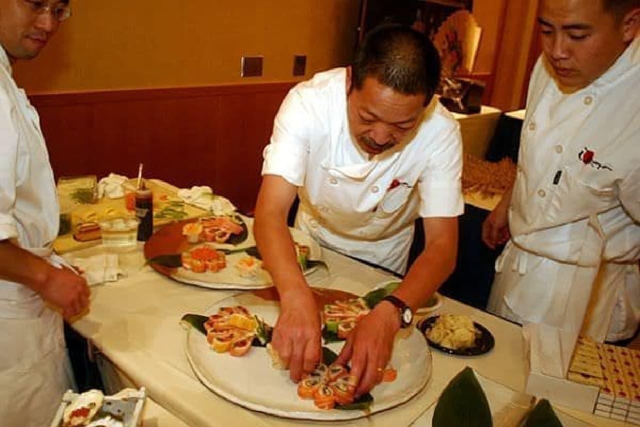 各地の人気レストランが出店  料理にも期待大!